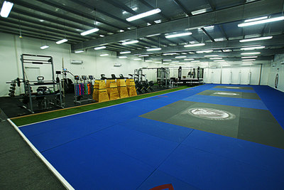 Spacious World-Class Training Mats imported from the US